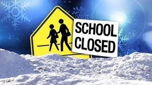 School Closed in Ice