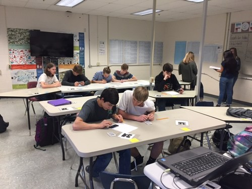 students at desk calculating future value of money