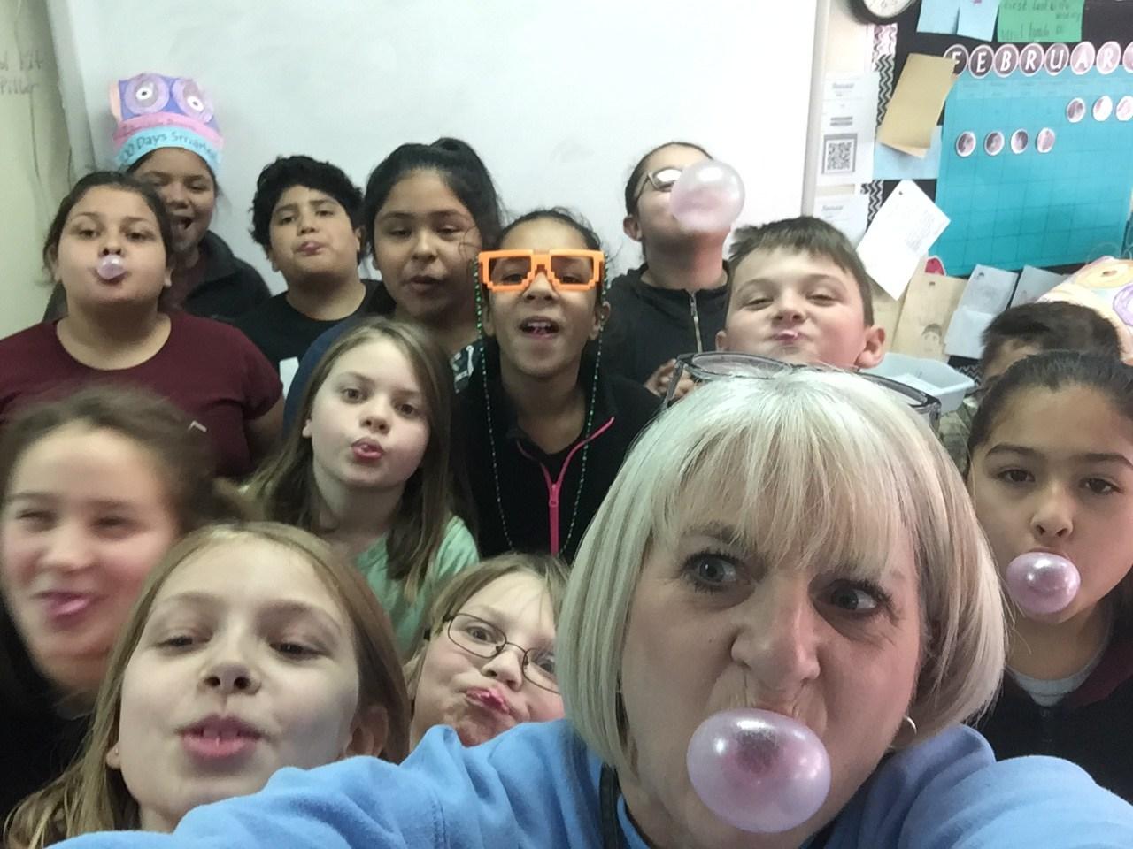 Bubble Blowing Contest