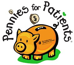 piggy bank with pennies for patients