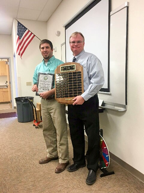 Congratulations to Parker Rotary Teacher of the year, Mr. Kyle Carlson Featured Photo