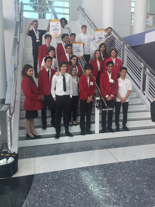 Seven BHHS Students Win Gold at State SkillsUSA Competition Thumbnail Image