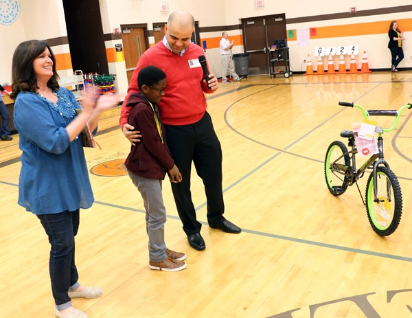 Ford, Toyota of Murfreesboro partner with school district  to reward bikes to students for good attendance Thumbnail Image
