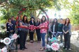 Staff cutting the ribbon
