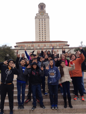 CMS Students at UT Austin