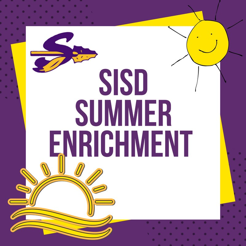 Sanger ISD Summer Enrichment Headline