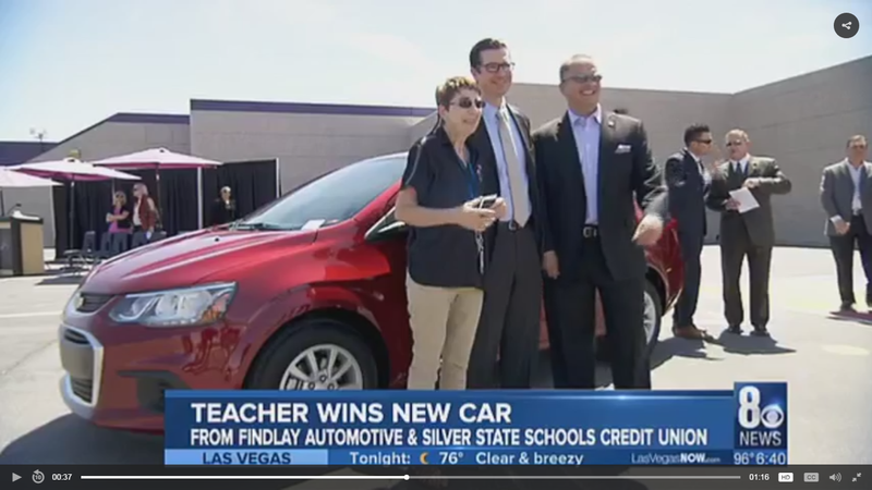Lowman Teacher is Awarded a BRAND NEW CAR! Thumbnail Image