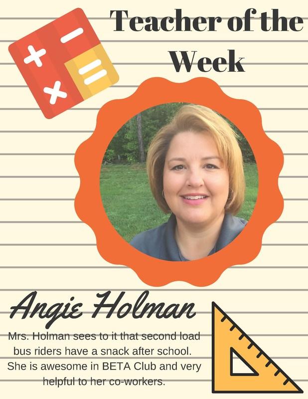 Teacher Of The Week Thumbnail Image