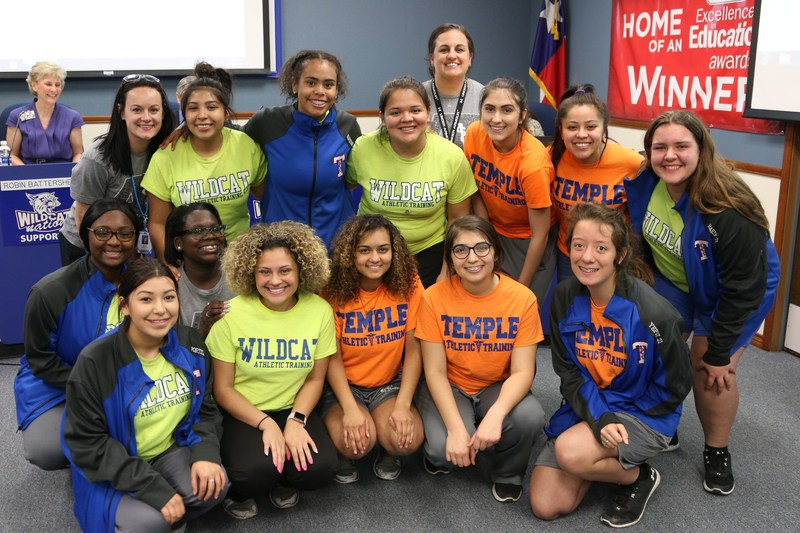 Temple High School Student Athletic Trainers