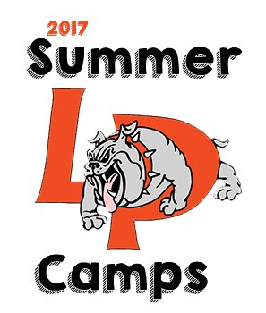 LP bulldog summer camps logo