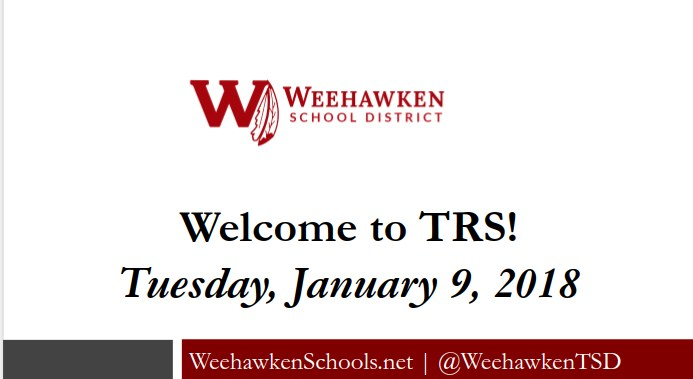 Welcome to TRS - Overview