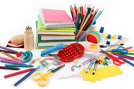 Image of school supplies.