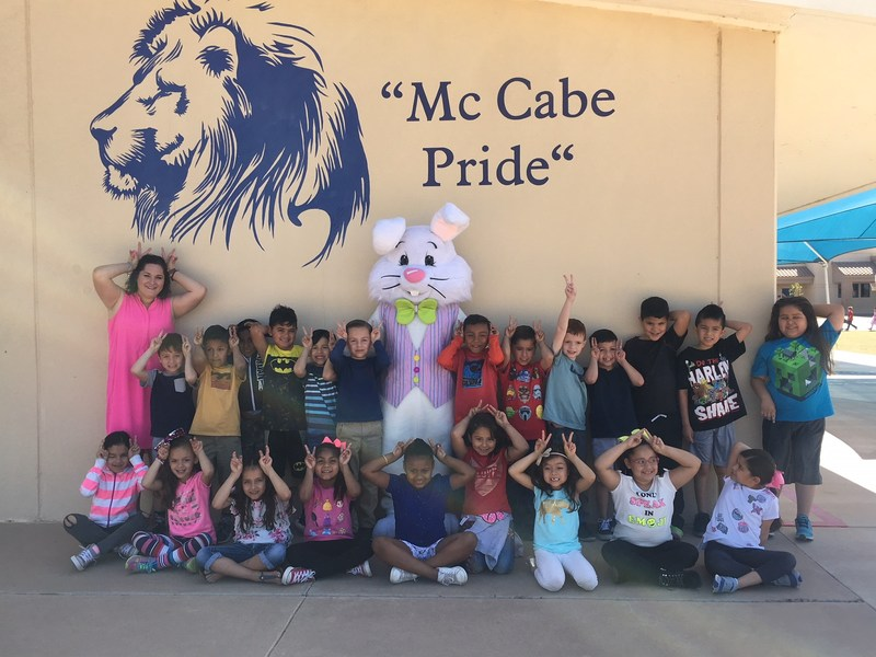 The Easter Bunny visits 1st Grade! Thumbnail Image
