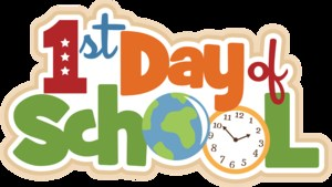First Day of School August 9th