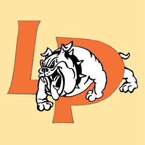 LP logo with bulldog
