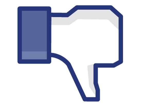 facebook thumbdown