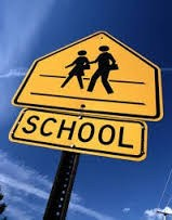 School traffic safety sign