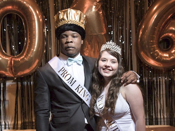 King Erick and Queen Mariah were crowned at the Prom.