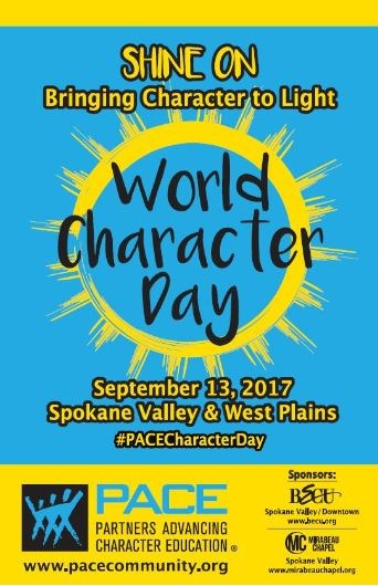 SEPTEMBER 13 IS WORLD CHARACTER DAY! Thumbnail Image