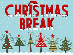 December 18th to January 3rd Christmas Break Thumbnail Image