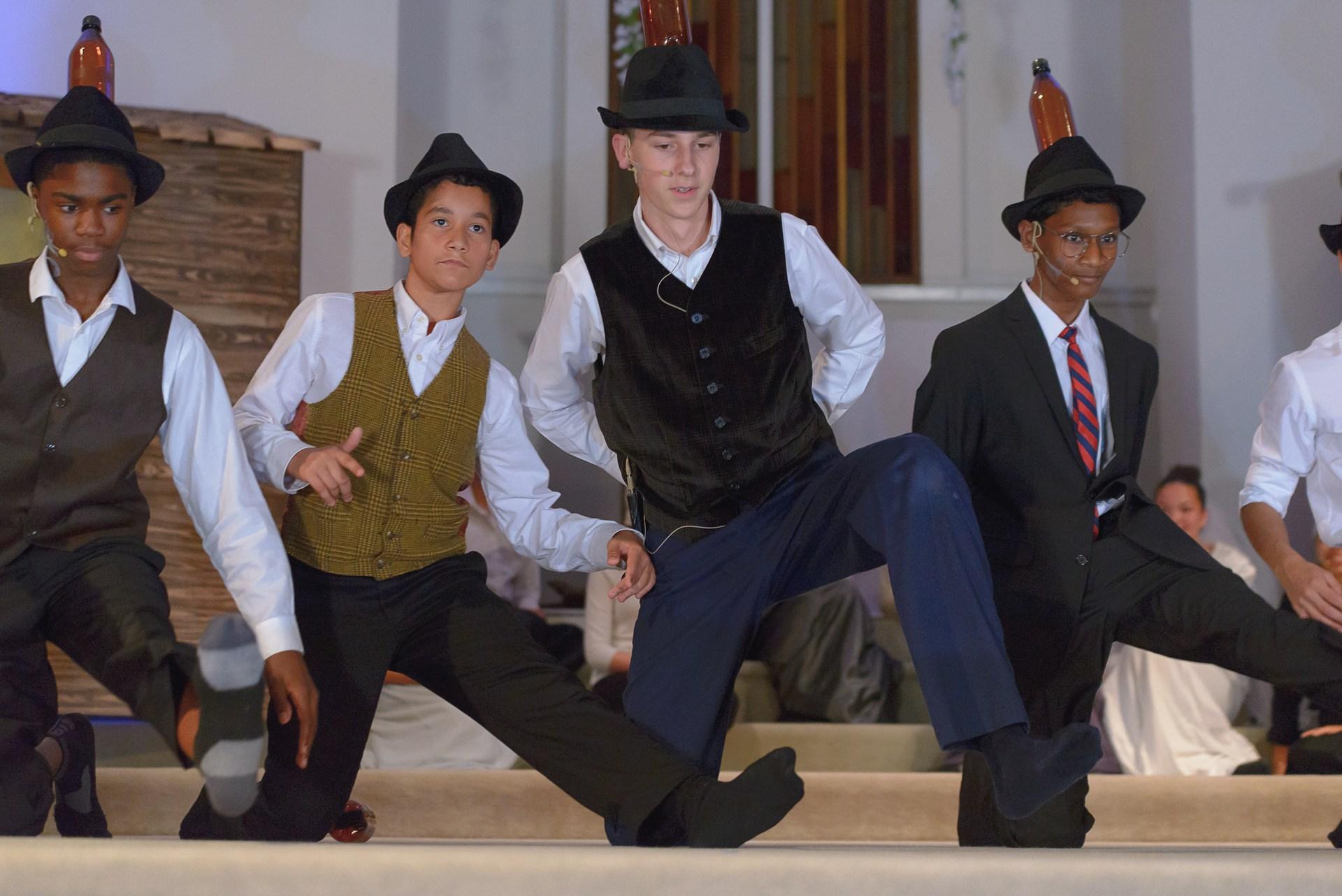 Dance scene from Fiddler on the Roof
