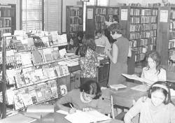 Garfield library 1960s