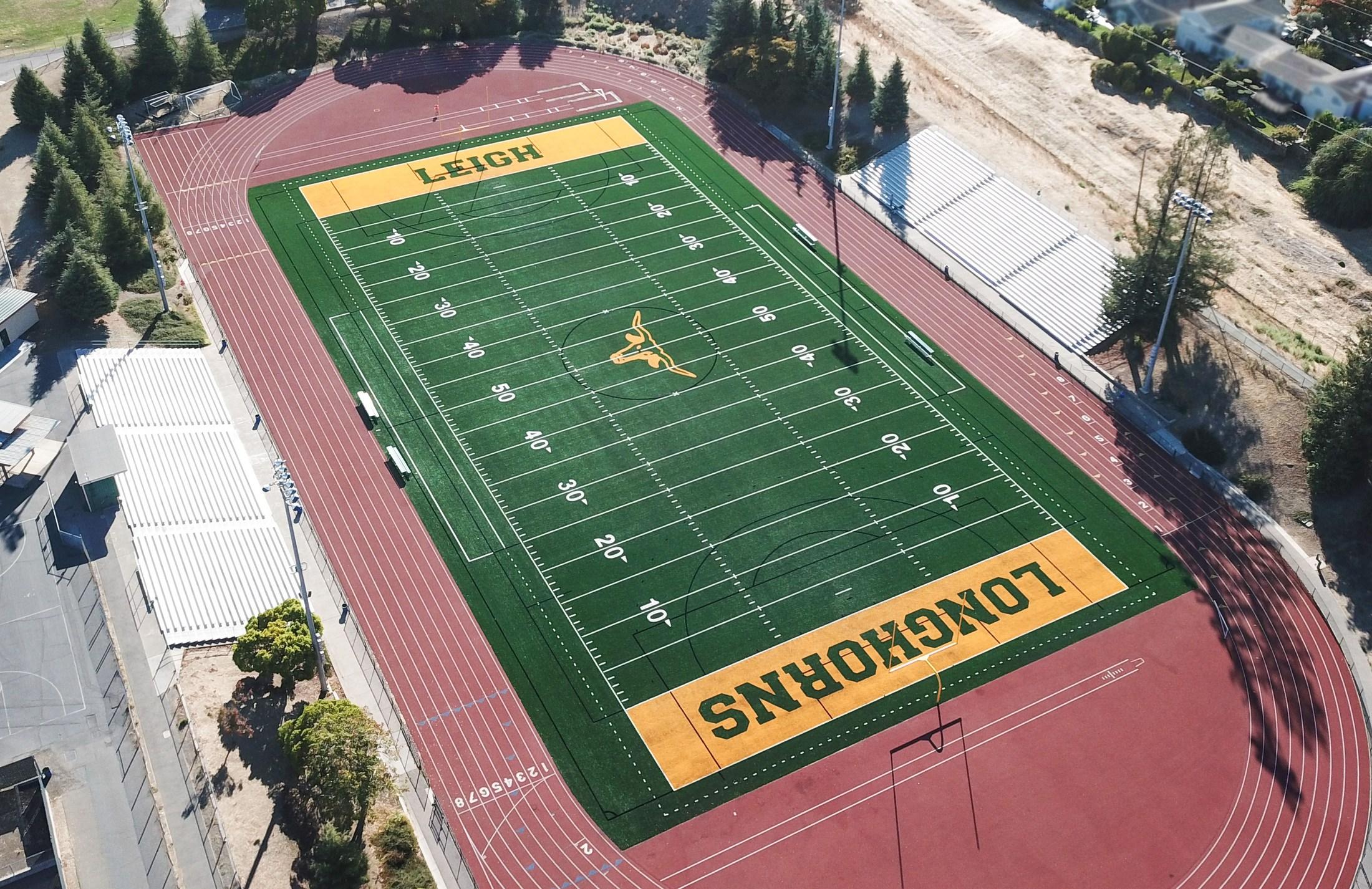 leigh high school football field