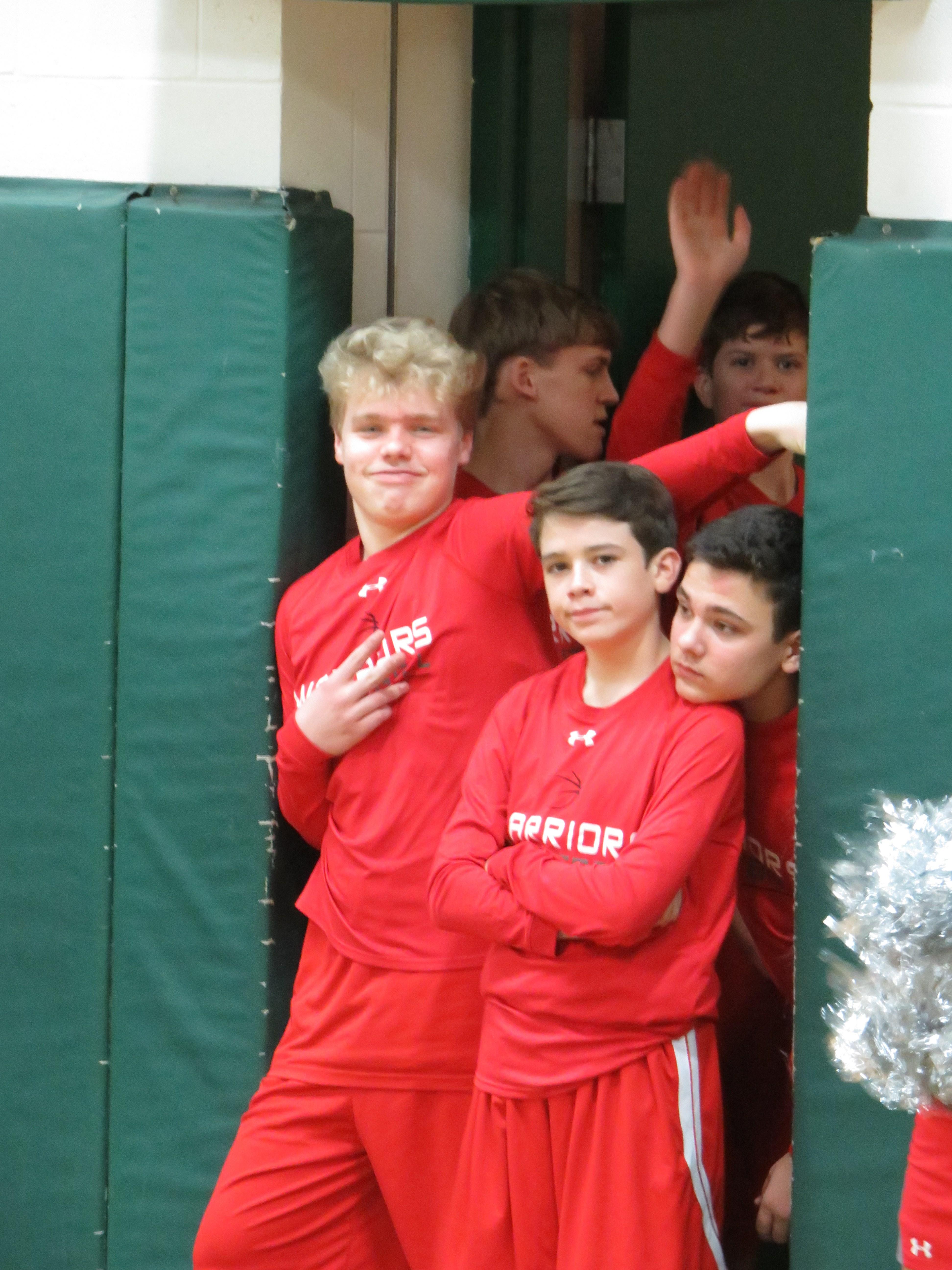 8th grade boys basketball player Ashton Harris