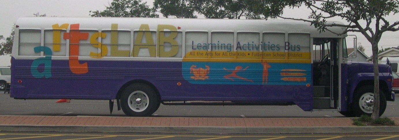 All The Arts For All The Kids Arts LAB Bus