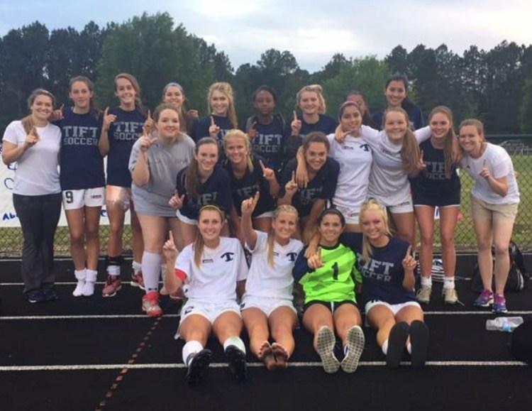 2016 Region 1-AAAAAA Champions - Girls Soccer