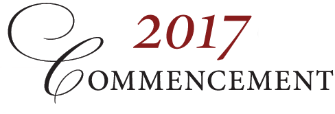 2017 Commencement Letter Thumbnail Image