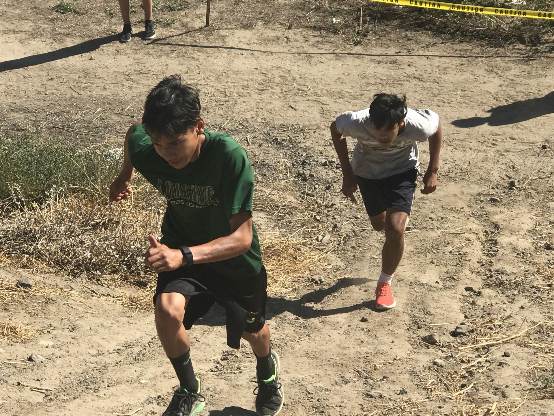 Running the hill