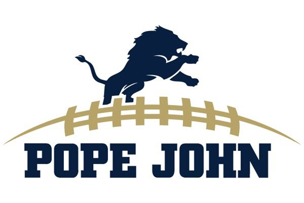 Pope John football logo
