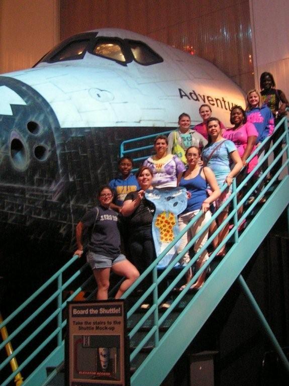 First Choir trip to NASA in Houston 2010