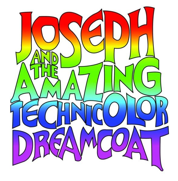 Joseph and the Amazing Technicolor Dreamcoat word graphic