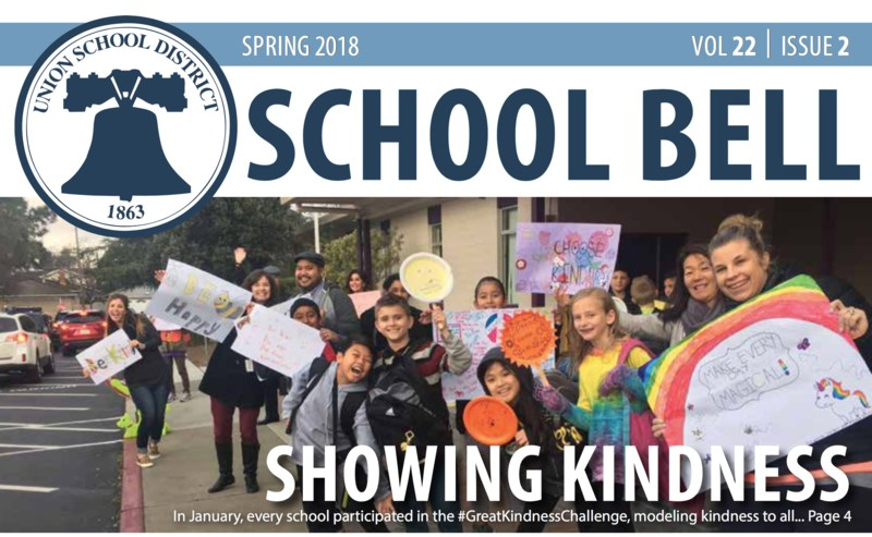 School Bell Feature Showing Kindness