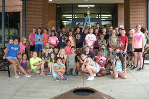 Clear Creek Intermediate Choir wins 1st
