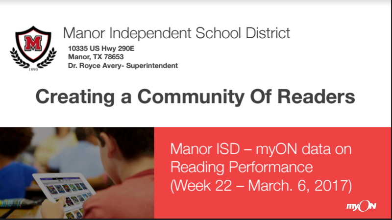 MISD Creating a Community of Readers Thumbnail Image