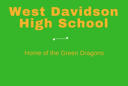 West Davidson Dragons Banner