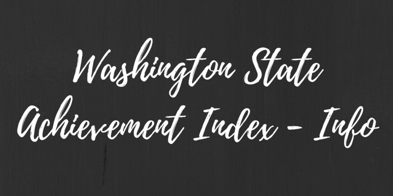 Washington State Achievement Index Thumbnail Image