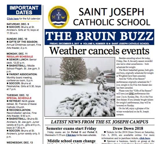 The Bruin Buzz, Dec. 8 Thumbnail Image