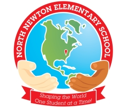 North Newton Logo! Shaping the world one student at a time!