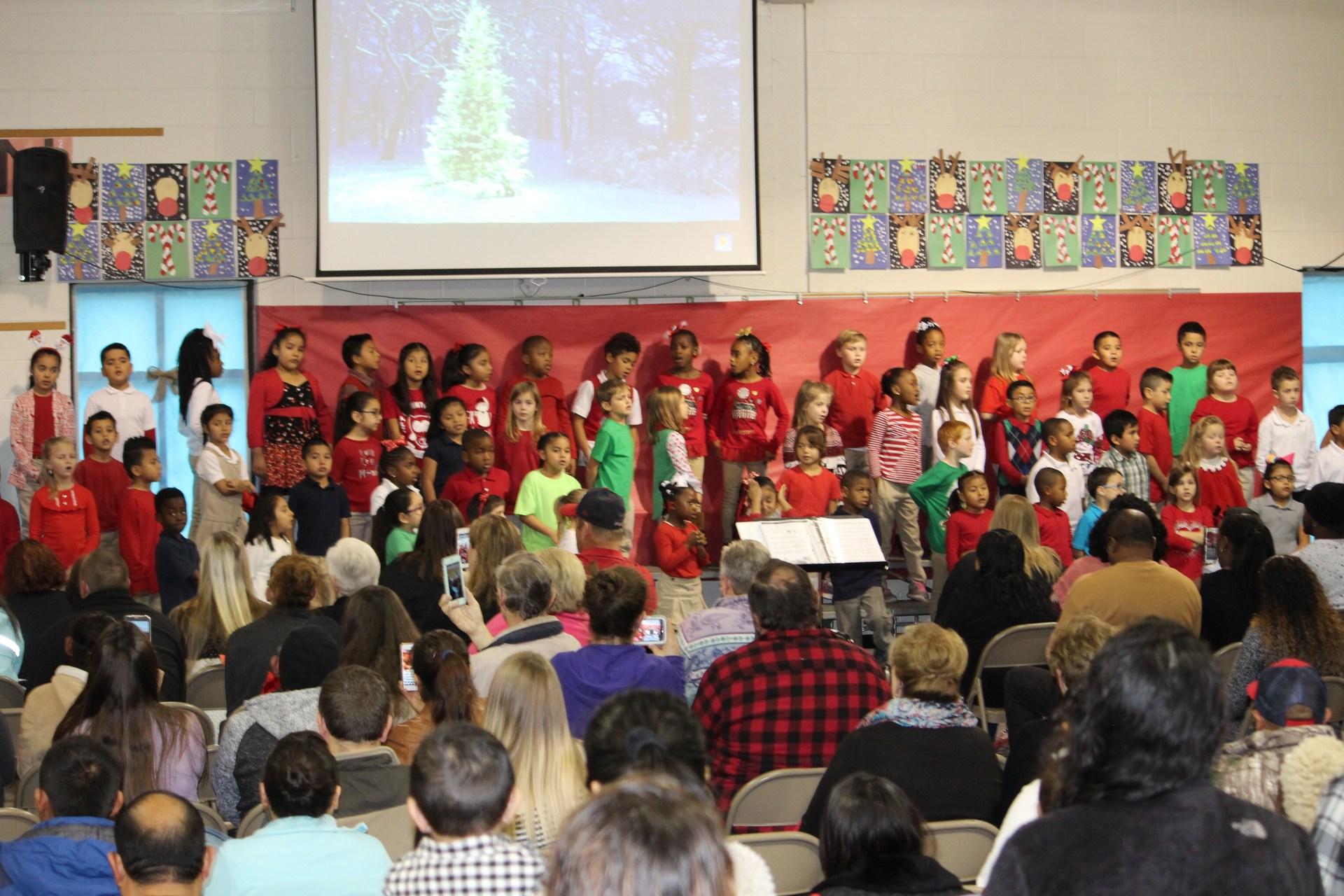 First Grade Christmas Program 2017-2018