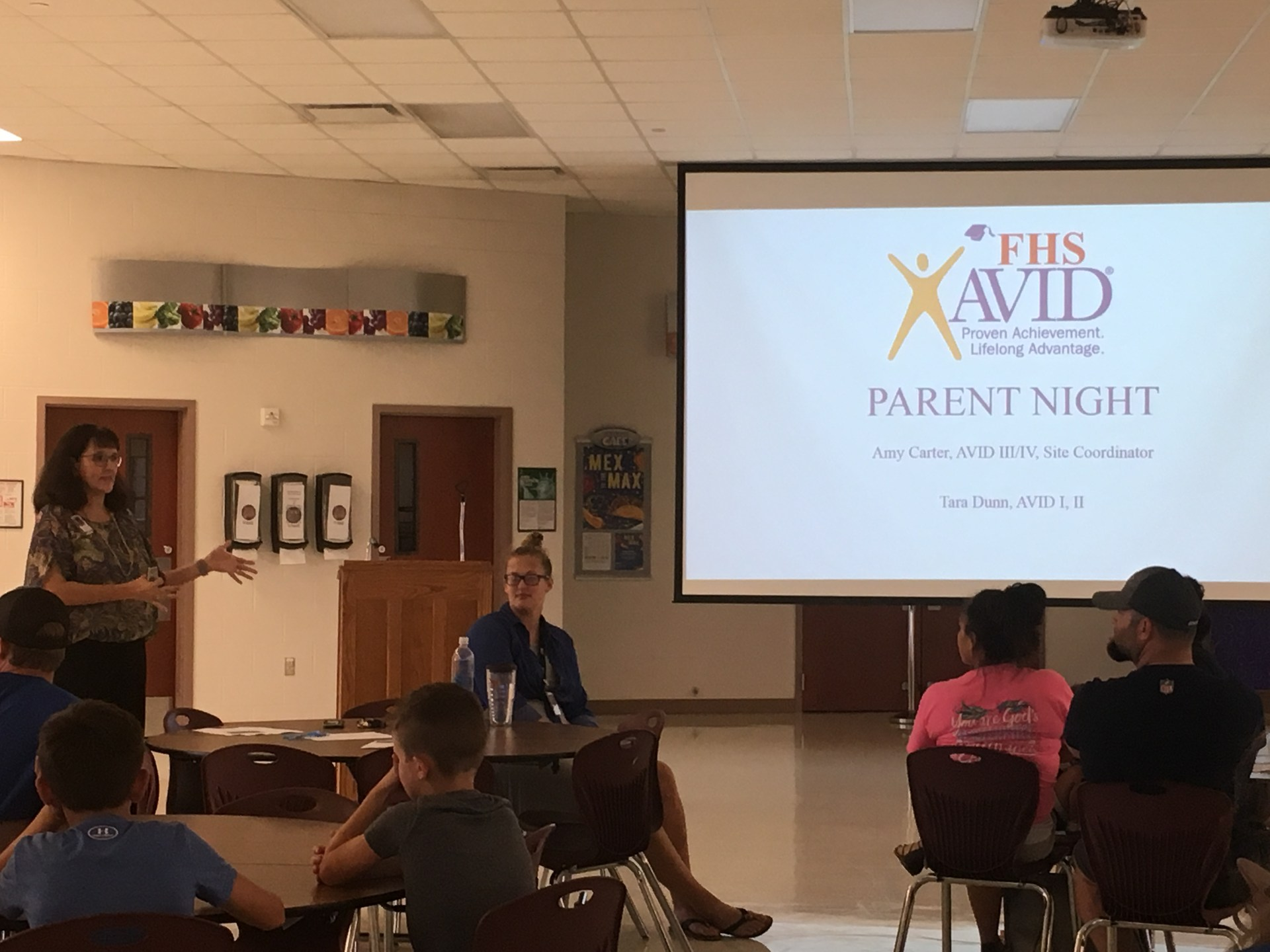 FHS AVID Parent Night