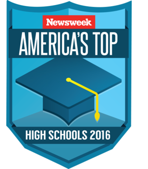 Newsweek America's Top High Schools 2016 logo