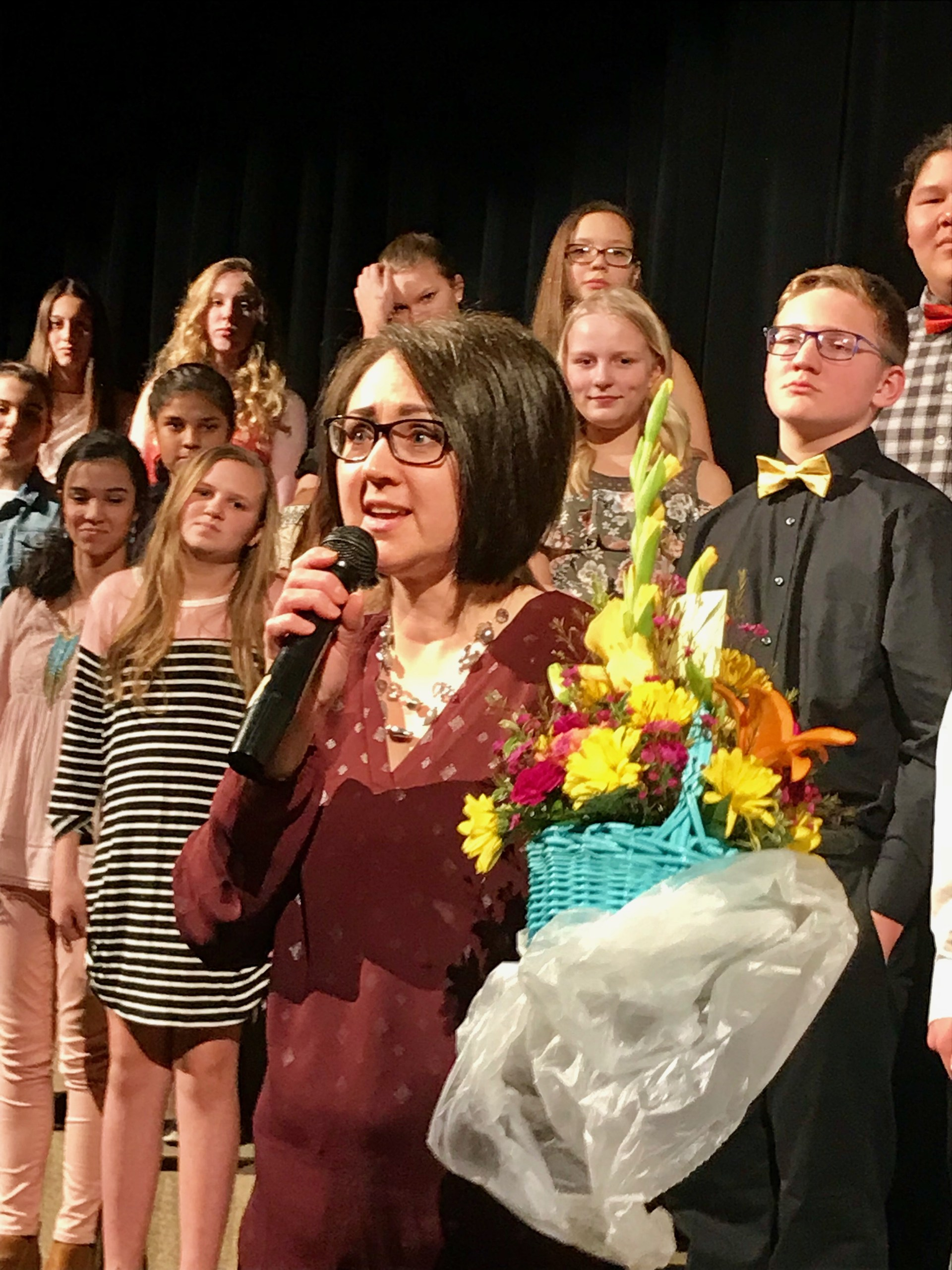 2018 Mary Ludeman Teacher of the Year, Mrs. Lisa Zahn