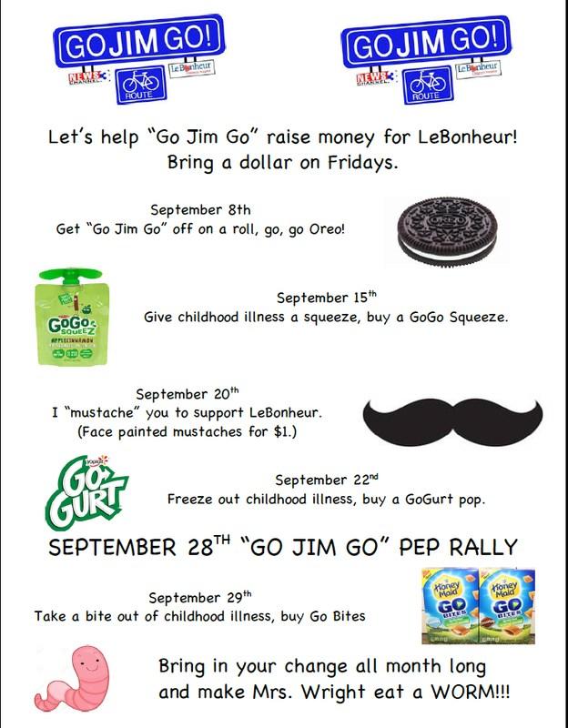 Go Jim Go Fundraiser for LeBonheur Thumbnail Image