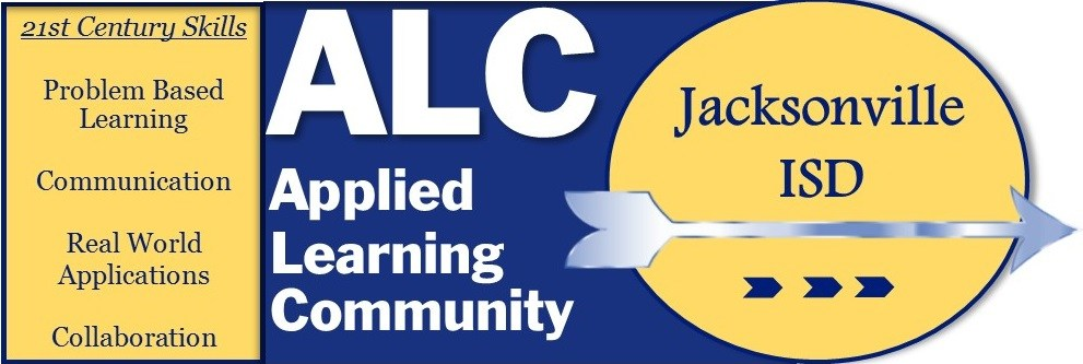 Blue and Gold Applied Learning Community Logo