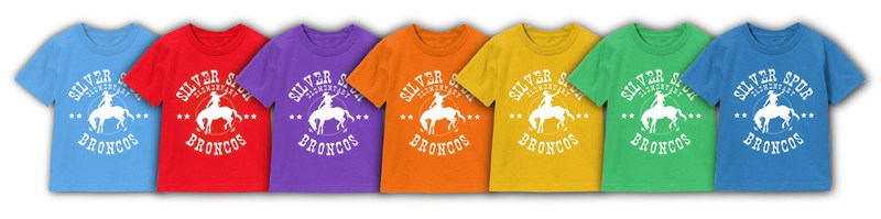 Show your school pride by wearing your spirit shirt every Friday.  Go Broncos! Thumbnail Image