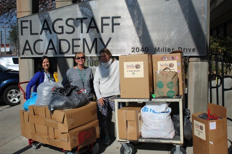Flagstaff Academy Dragons Donate 600 LBS of Candy to